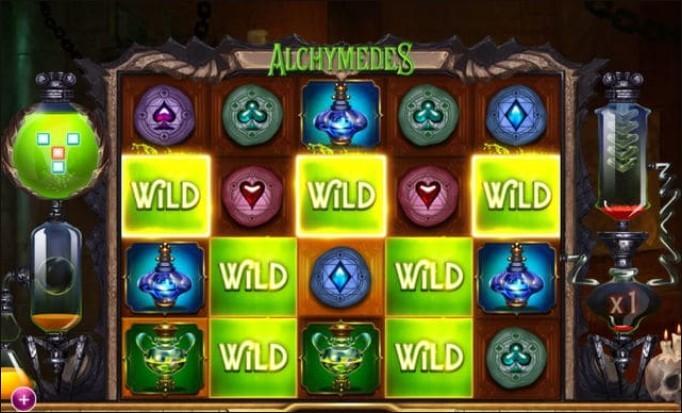 Характеристики игрового автомата Alchymedes