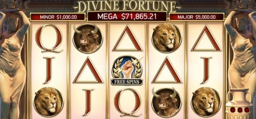 характеристики онлайн слота Divine Fortune
