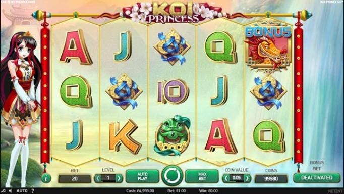 Koi Princess игровой автомат